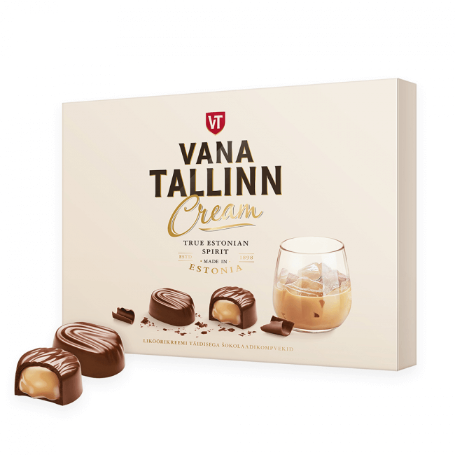 Kalev Vana Tallinn Cream Pralinen