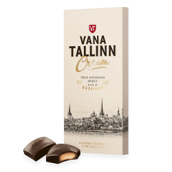 Kalev Vana Tallinn Cream Schokolade | 104 g
