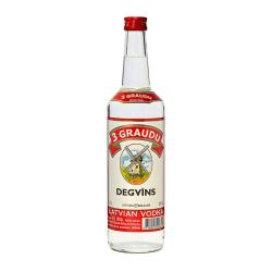 Latvijas Balzams Vodka 3 Graudu Degvins | 0,5 l