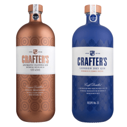 Liviko Crafter's London Dry Aromatic Flower Gin Set | 2 l