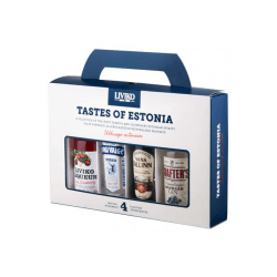 Liviko Tastes of Estonia Set - Estlands ganzer Stolz