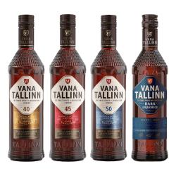 Liviko Vana Tallinn Dark Liquorice Set | 2 l