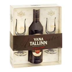 Liviko Vana Tallinn 40% Geschenk Set | 0,5 l