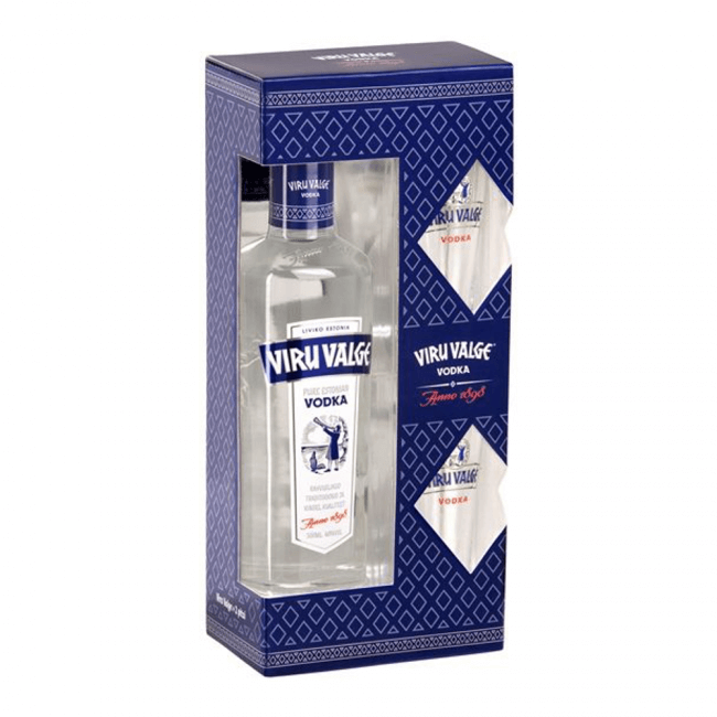Liviko Viru Valge Vodka Präsentbox
