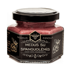 Medaus Magija Honig mit Cranberry   120 g