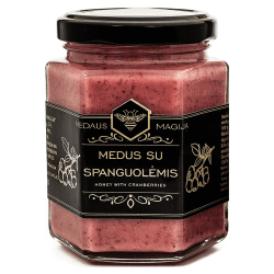 Medaus Magija Honig mit Cranberry   250 g