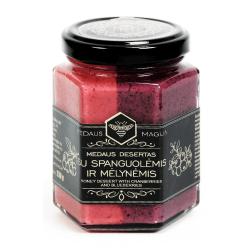 Medaus Magija Honig mit Blaubeere & Cranberry   230 g
