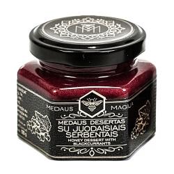 Medaus Magija Honig mit schwarzen Johannisbeeren | 120 g