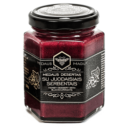 Medaus Magija Honig mit schwarzen Johannisbeeren | 250 g