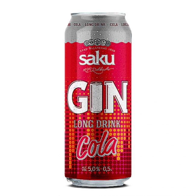 Saku Gin Longdrink Cola