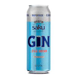 Saku Gin Longdrink Grapefruit 568ml
