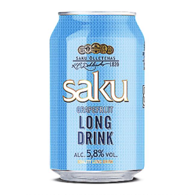 Saku Gin Longdrink Grapefruit 330ml