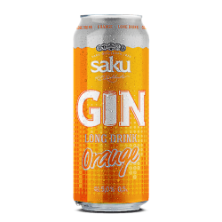Saku Gin Longdrink Orange