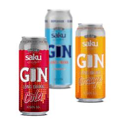 Saku Gin Longdrink Set