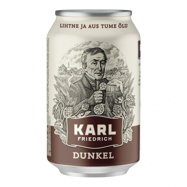 Saku Karl Friedrich Dunkel 330ml
