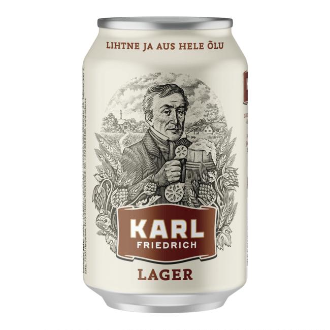 Saku Karl Friedrich Lager 330ml